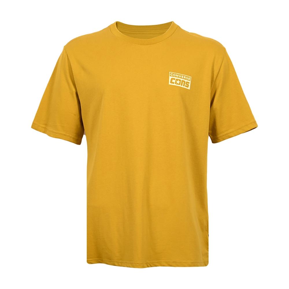 CONVERSE SHORT SLEEVE TEE 男 短袖上衣 黃色