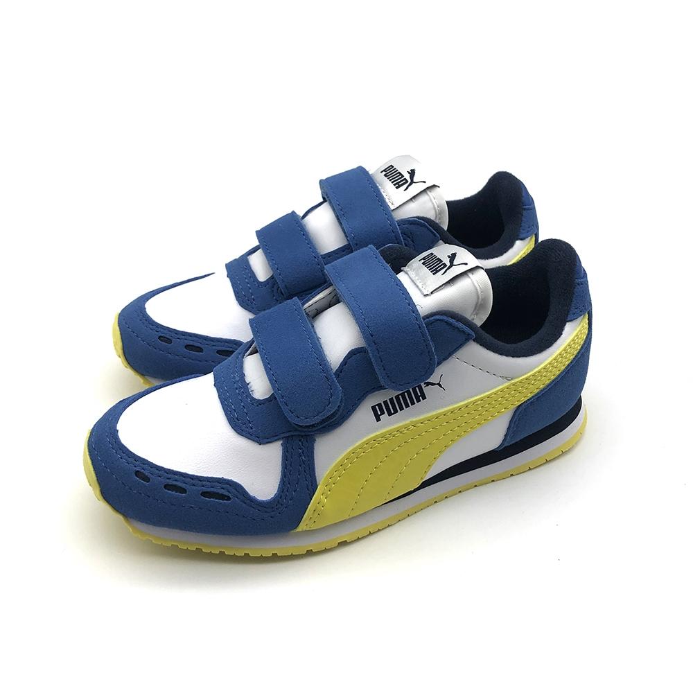 PUMA Cabana Racer SL V PS 中大童 其他休閒鞋 白藍