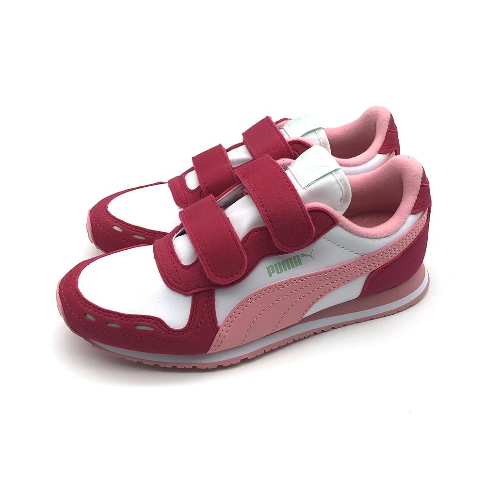 PUMA Cabana Racer SL V PS 中大童 其他休閒鞋 粉紅
