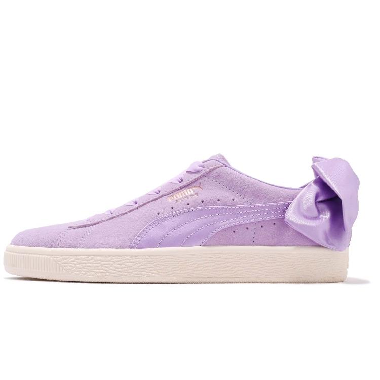 PUMA Suede Bow Wns 女 休閒鞋 紫