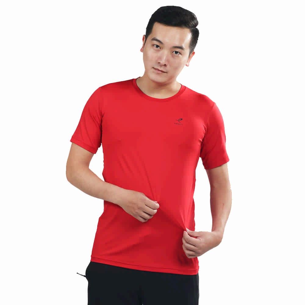 ENERGETICS Felly ux 男 短袖上衣 紅