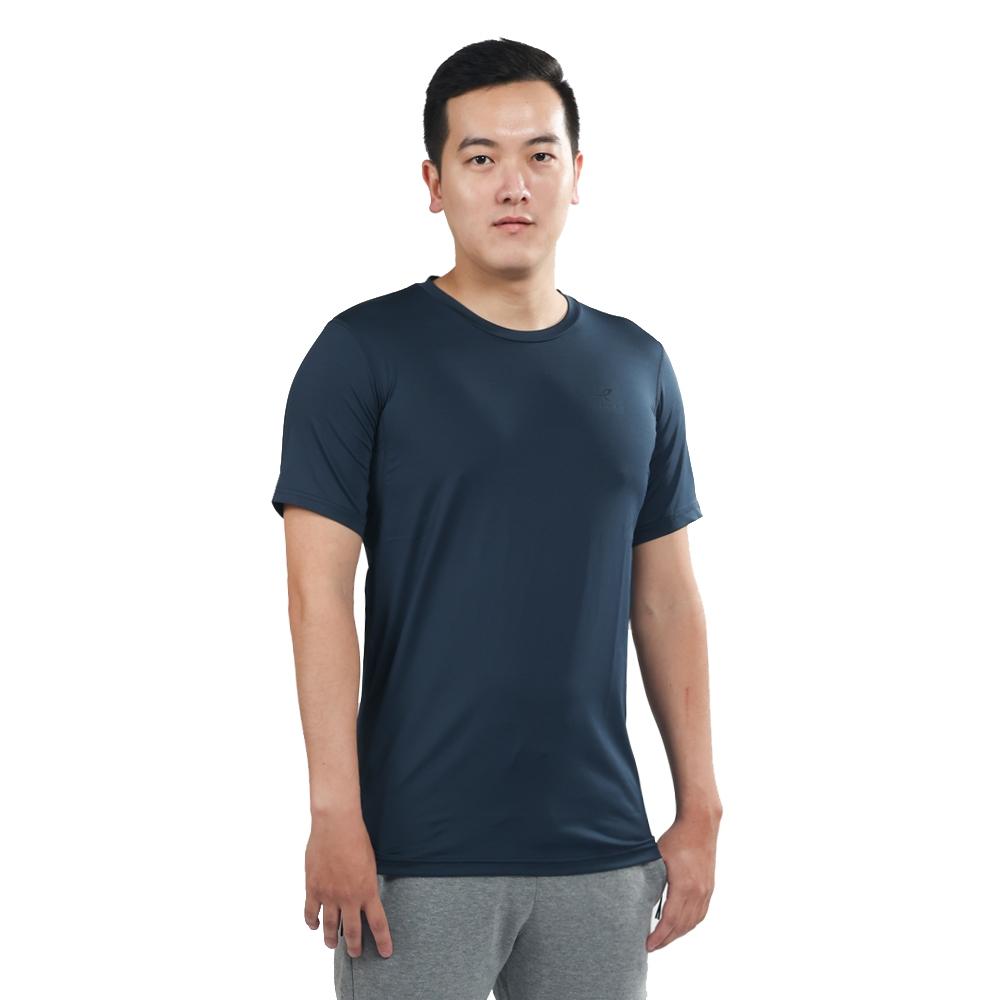 ENERGETICS Felly ux 男 短袖上衣 深藍
