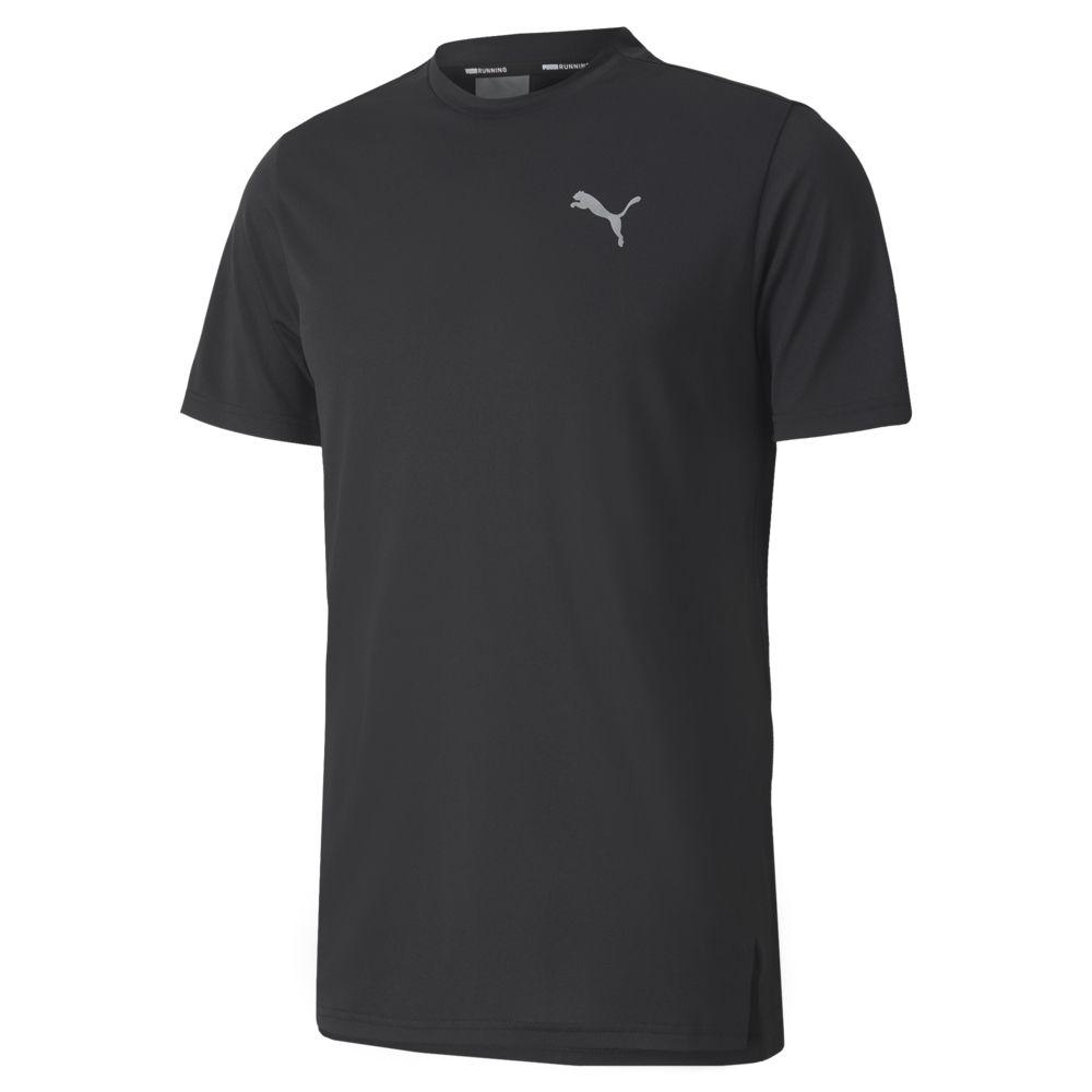 PUMA 慢跑系列Lite短袖T恤 男 短袖上衣 黑