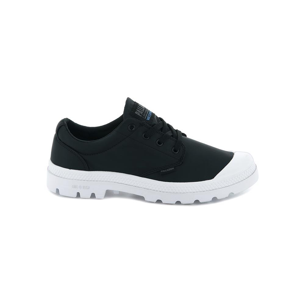 Palladium PAMPA OXPUDDLE LTWP+ 男女 低筒防水短靴 黑色