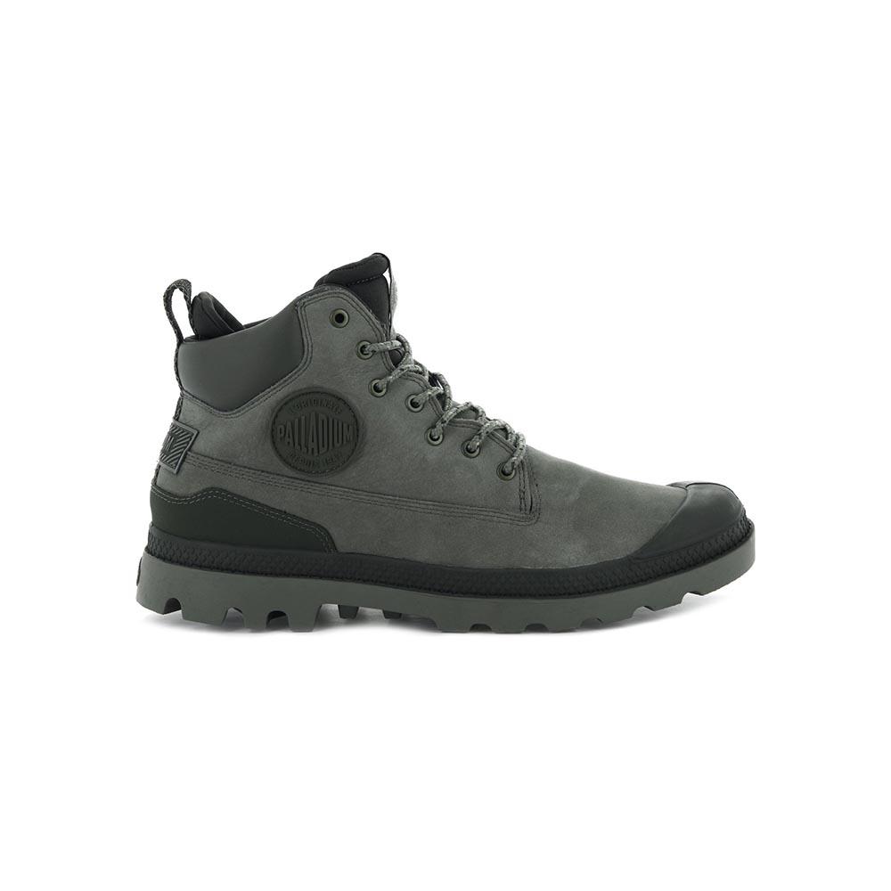 Palladium PAMPA SC OUTSIDERWP+ 男女 防水軍靴 深灰