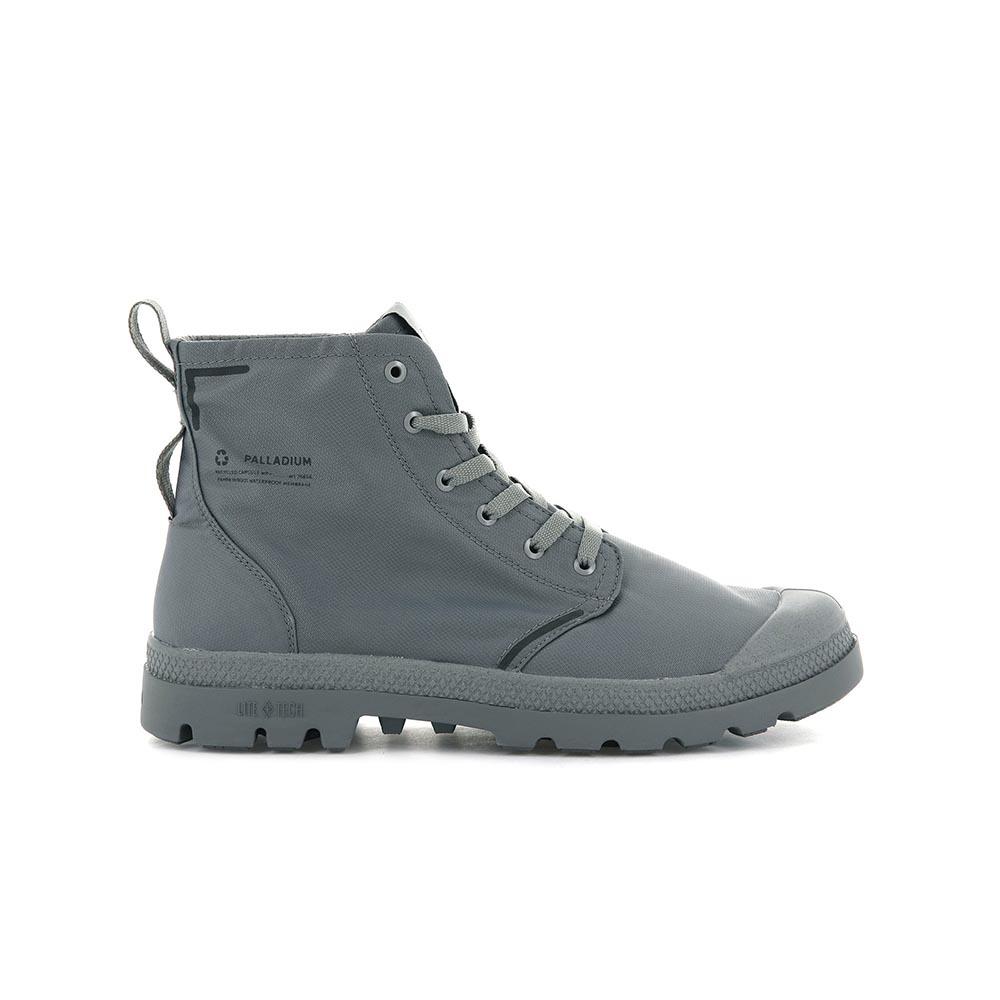 Palladium PAMPA LITE+ RCYCLWP+ 男女 環保輕量防水軍靴 灰色