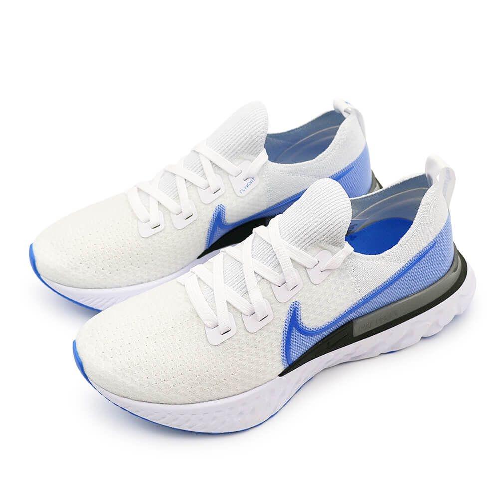 NIKE REACT INFINITY RUN FK 男 慢跑鞋 白藍