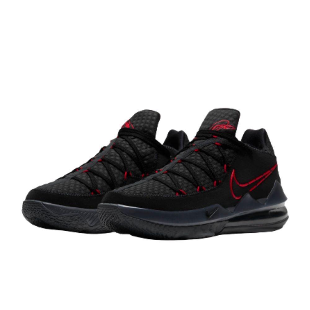 NIKE LEBRON XVII LOW EP 男 籃球鞋 黑紅