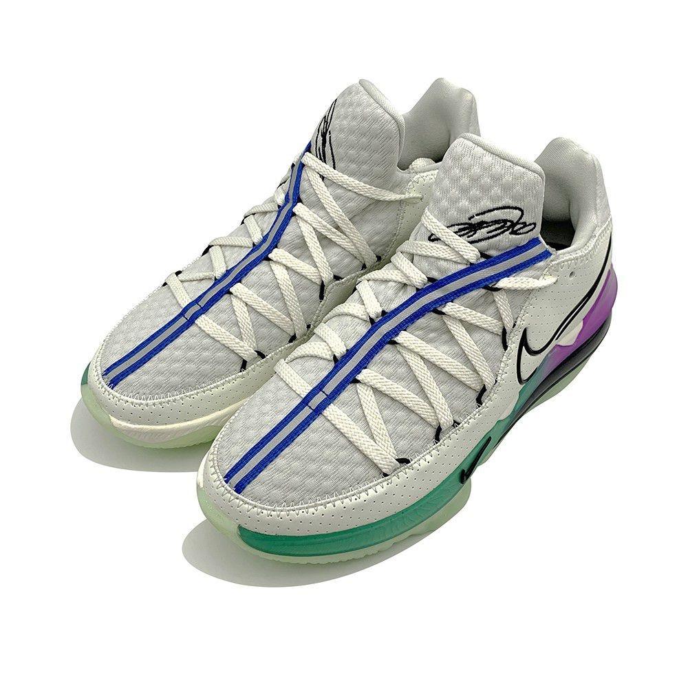 NIKE LEBRON XVII LOW EP 男 籃球鞋 綠灰