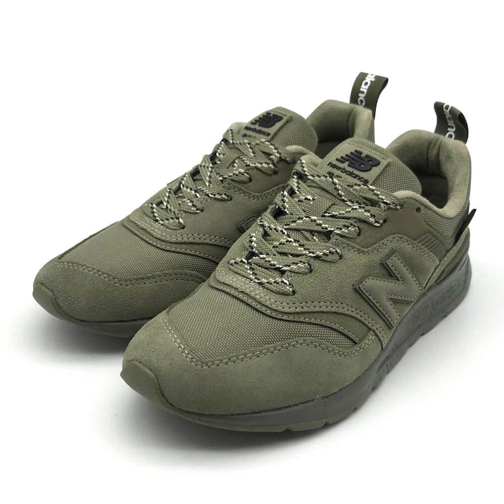New Balance 997 系列 休閒鞋 男 軍綠