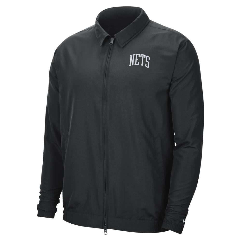 NIKE NBA Essential 教練外套 籃網隊 黑色