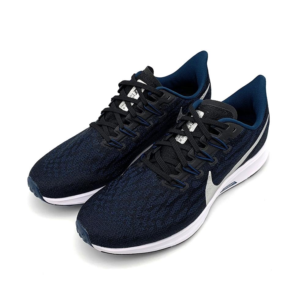 NIKE AIR ZOOM PEGASUS 36 男 慢跑鞋 深藍