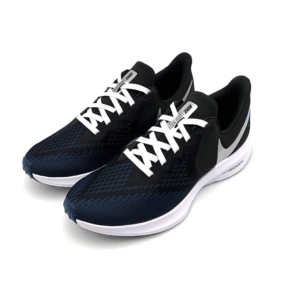 NIKE ZOOM WINFLO 6 男 慢跑鞋 深藍