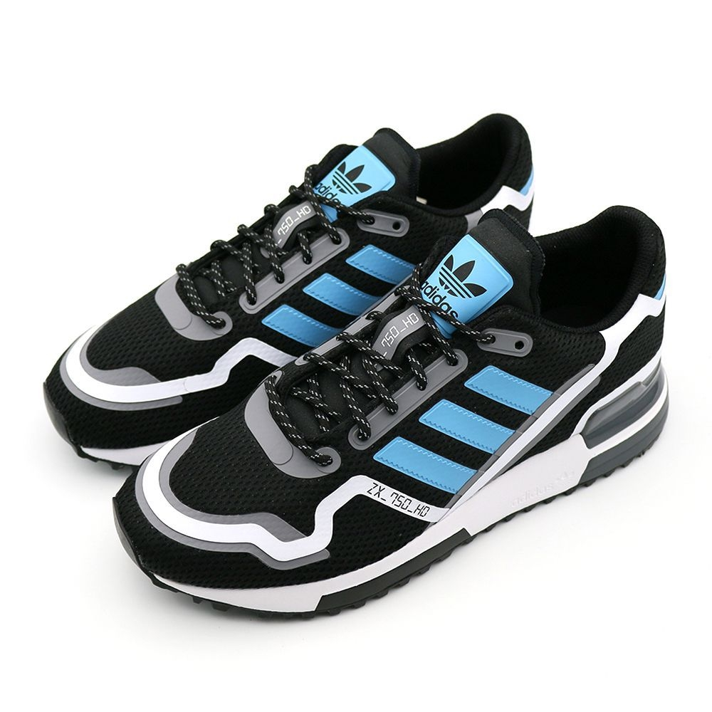 ADIDAS ZX 750 HD 男 休閒鞋 黑藍