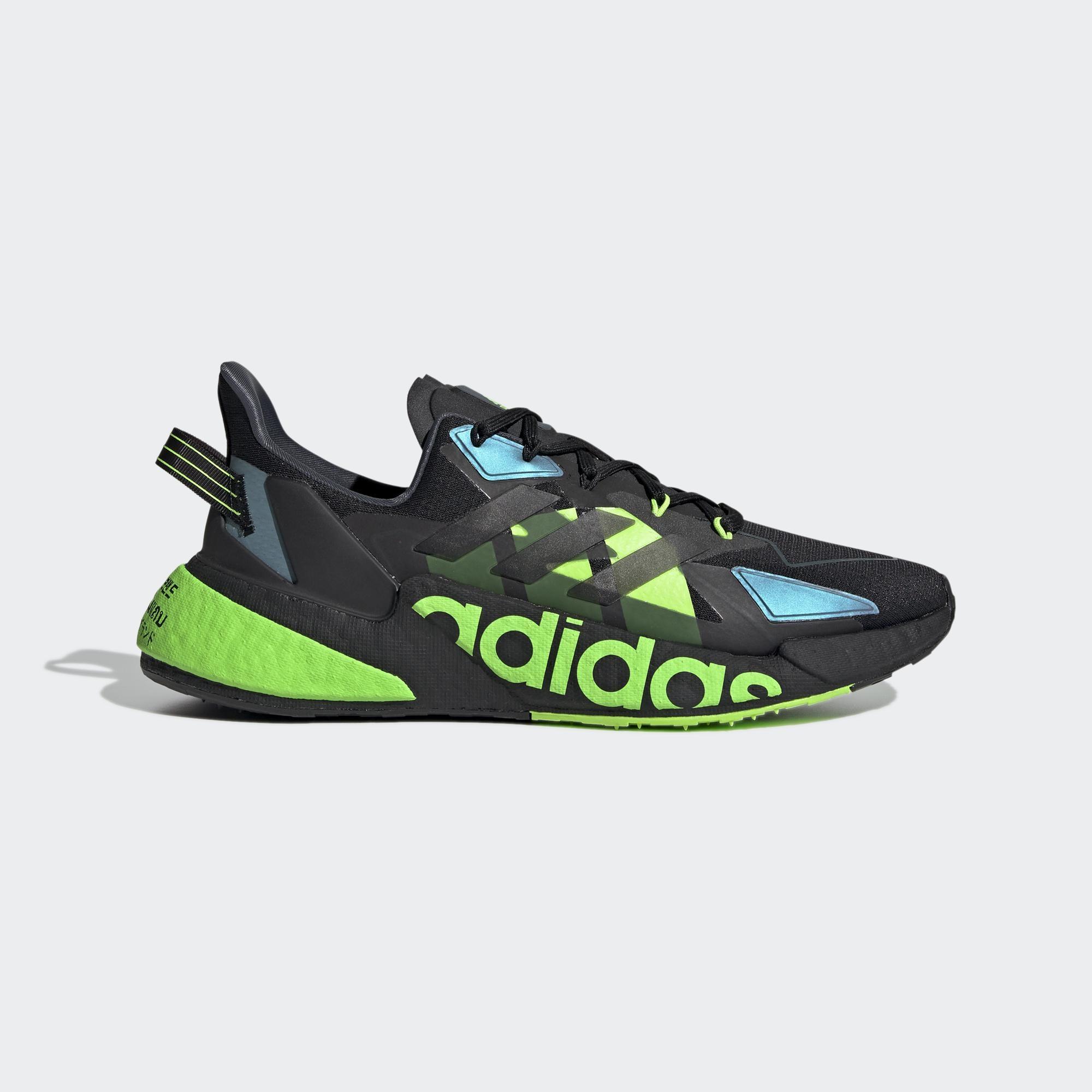 ADIDAS X9000L4 HEAT.RDY 男 慢跑鞋 黑綠