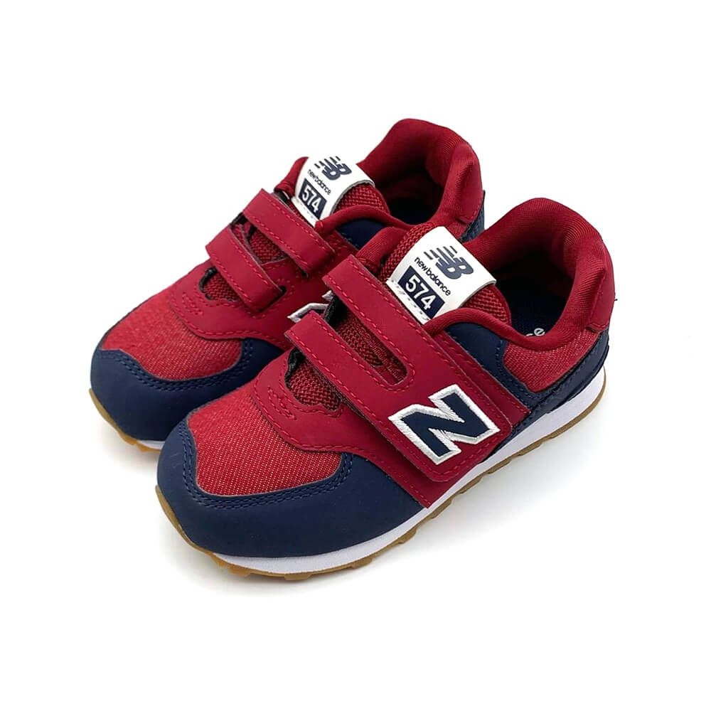 New Balance 574 系列  童 休閒鞋 暗紅