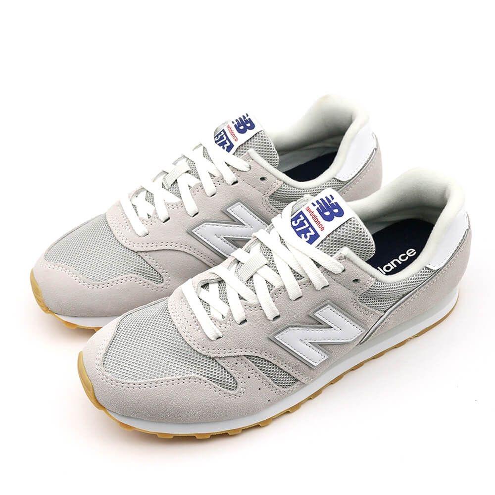 New Balance 373 系列 男女 休閒鞋 灰白