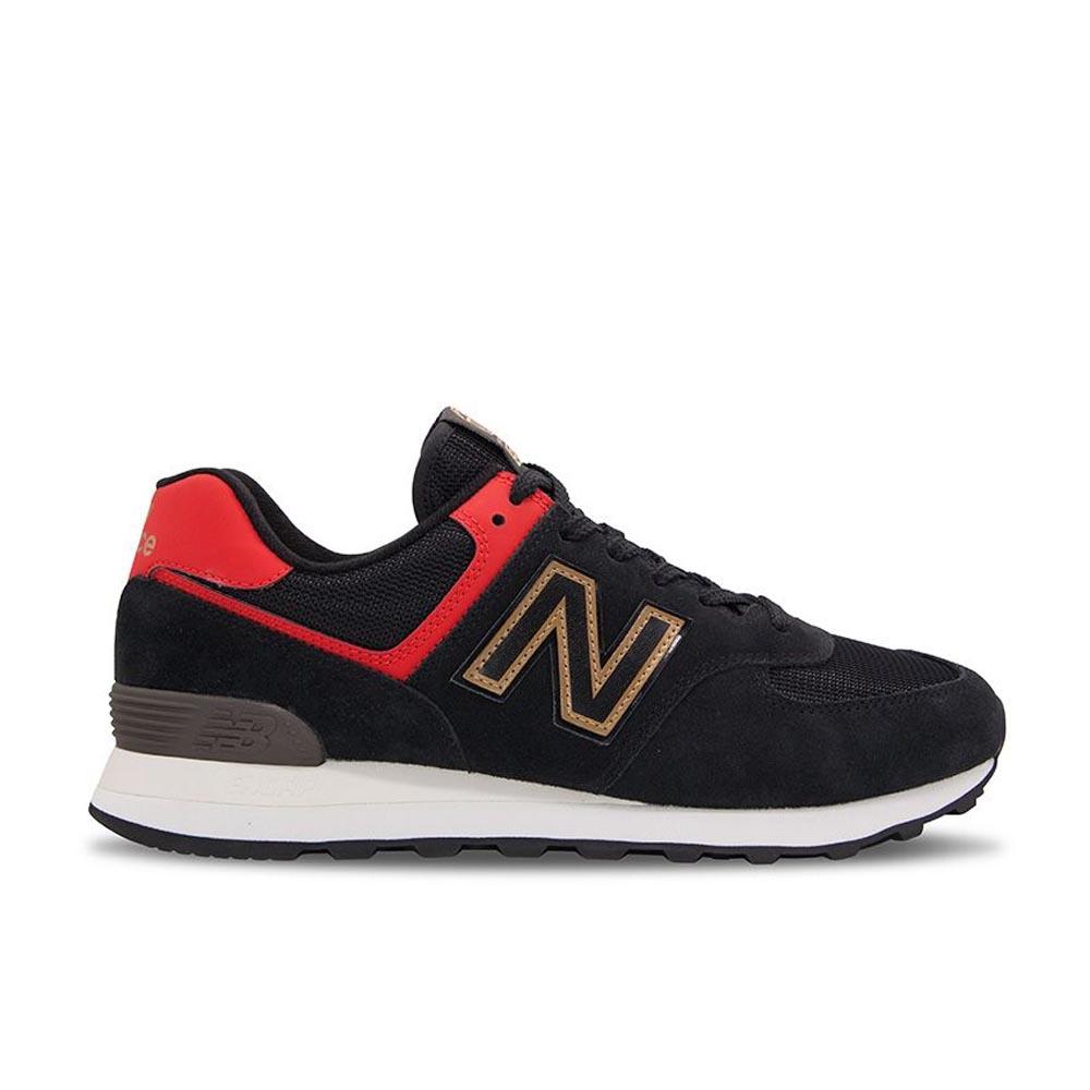 New Balance 574系列 男女 休閒鞋 黑色