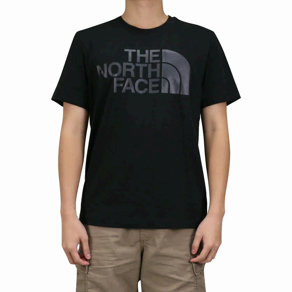 The North Face 男女 短袖T恤 黑色