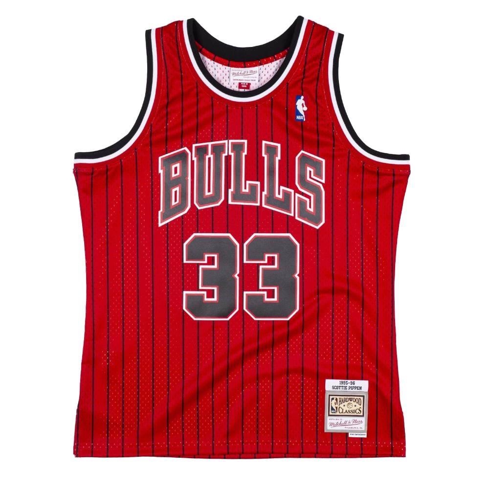 M&N NBA RELOAD 異色 復古球衣 公牛隊 95-96 #33 Scottie Pippen