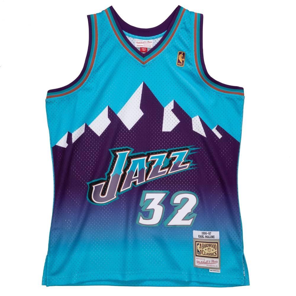 M&N NBA RELOAD 異色 復古球衣 爵士隊 96-97 #32 Karl Malone