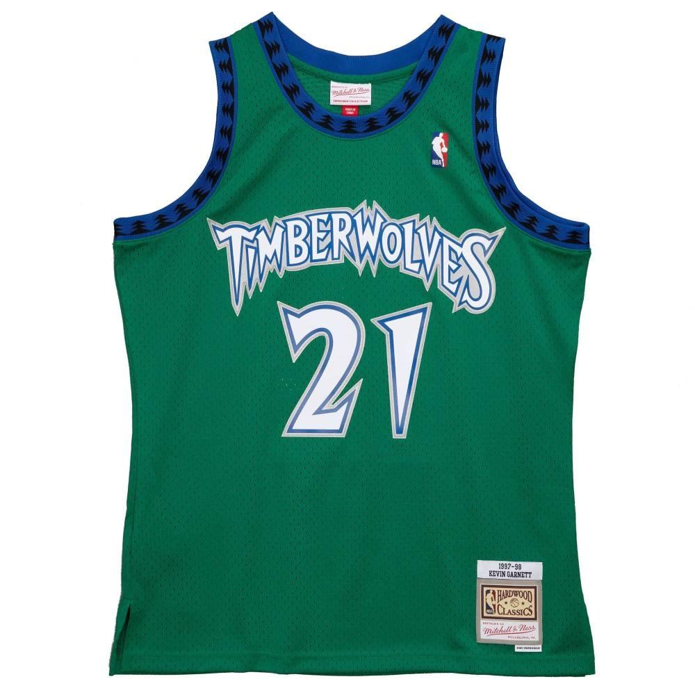 M&N NBA RELOAD 異色 復古球衣 灰狼隊 97-98 #21 Kevin Garnett