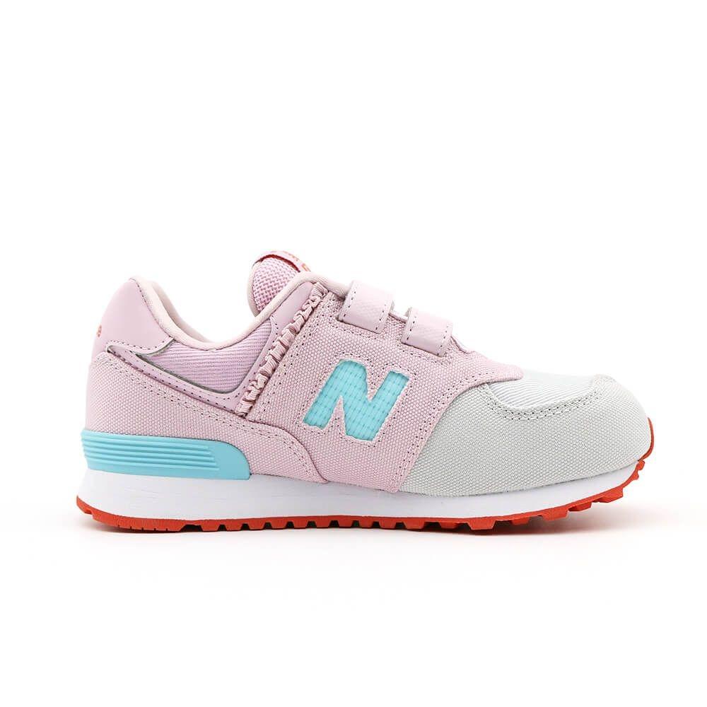 New Balance 574 系列 中大童 休閒鞋 粉紅